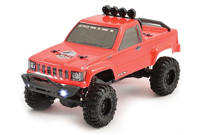 FTX OUTBACK MINI 1:24 TRAIL READY-TO-RUN RED (FTX5502R)